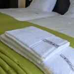 Pormenor toalhas. Casa D L Cura, Genísio, Miranda do Douro, Portugal.